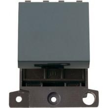 Click MiniGrid MD024BK Black 20A 2 Way Switch Module