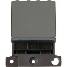 Click Minigrid 20A Switch 2 Way Module Black Nickel MD024BN