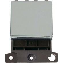 Click Minigrid 20A Switch 2 Way Module Chrome MD024CH