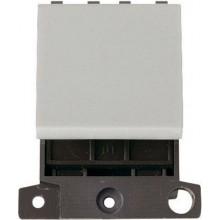 Click MiniGrid MD024WH White 20A 2 Way Switch Module