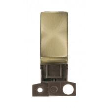 Click MiniGrid MD028AB Antique Brass Intermediate Switch Module
