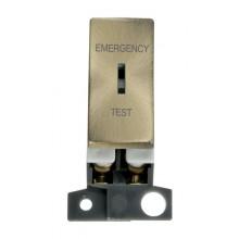 Click MiniGrid MD029AB Antique Brass DP Keyswitch Em Test Module
