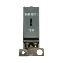 Click MiniGrid MD029BK Black DP Keyswitch Emergency Test Module