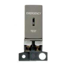 Click MiniGrid MD029BN Black Nickel DP Keyswitch Em Test Module