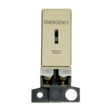 Click MiniGrid MD029BR Pol/Brass DP Keyswitch Em Test Module