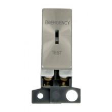 Click MiniGrid MD029BS Brushed Steel DP Keyswitch Em Test Module