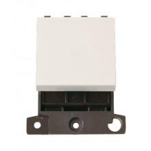 Click MiniGrid MD032PW Polar White 32A DP Switch Module