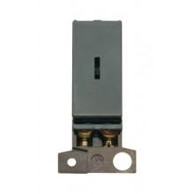 Click MiniGrid MD046BK Black Double Pole Keyswitch Module