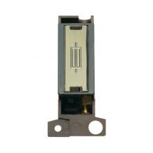 Click MiniGrid MD047BKBR Black Pol/Brass Fused Connection Module