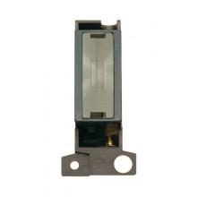 Click MiniGrid MD047BKBS Black B/Steel Fused Connection Module
