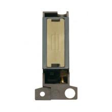 Click MiniGrid MD047BKSB Black Satin Brass Fused Connection Mod