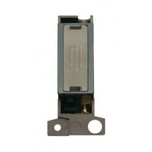 Click MiniGrid MD047BKSS Black S/Steel Fused Connection Module
