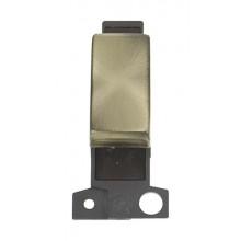 Click MiniGrid MD075AB Ant/Brass 3 Position Retractive Sw Module