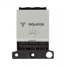 Click MiniGrid MD220WH White 3 Pole Fan Isolator Lockable Sw Mod