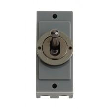 Click MD9102BN Black Nickel 10A Toggle Switch Module