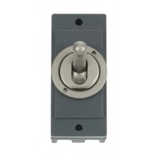 Click MD9102PN Pearl Nickel 10A Toggle Switch Module