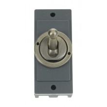 Click MD9125AB Antique Brass 10A Intermediate Toggle Sw Module