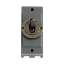 Click MD9125BN Black Nickel 10A Intermediate Toggle Sw Module