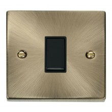 Click Deco Antique Brass Intermediate Switch VPAB025BK