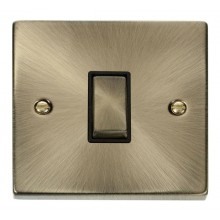 Click Deco Antique Brass Intermediate Switch VPAB425BK