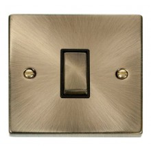 Click Smart Deco Antique Brass 1 Gang 1 Aperture VPABBK-SMART1