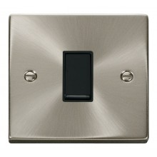 Click Deco Satin Chrome Intermediate Switch VPSC025BK