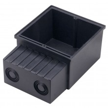 Flush mounted box for FOK LED, FRAME, FLAT FRAME and BASIC LED series
