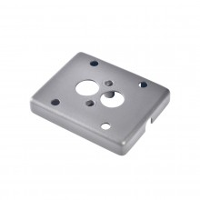 SLV Adapter frame for surface-mounted cable, silver-grey