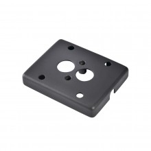 SLV Adapter frame for surface-mounted cable, anthracite