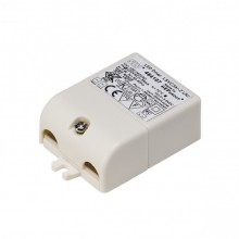 Intalite 464107 LED DRIVER, 3W, 350mA, with socket for mini plug, incl. strain-relief