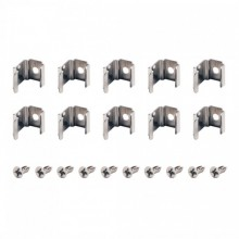 SLV MOUNTING CLIPS, for DELF D light bars, 45?, 10 pieces