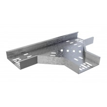 Trench Medium Duty Cable Tray Flat Tees (300mm) Pre-Galvanised