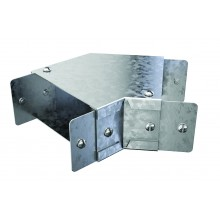 """Trench Cable Trunking Single Comp 45 Flat Bend (3""""x3"""")"""