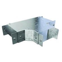 """Trench Cable Trunking Single Comp Top Lid Tee (3""""x3"""")"""